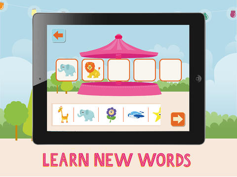 Pacca's Carousel - Words